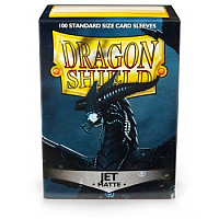 Dragon Shield - Matte Jet (100)