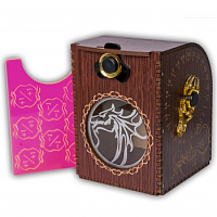 Blackfire Wooden Deck Case: Dragon