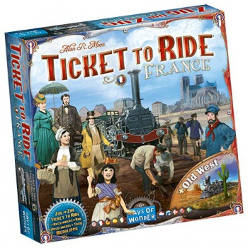 Ticket to Ride - France & Old West: Map Collection_boxshot