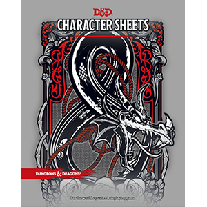 Dungeons & Dragons – D&D 5th Edition Character Sheets_boxshot