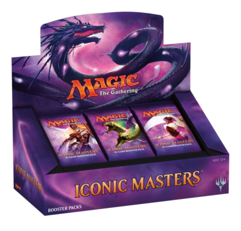 Iconic Masters booster display_boxshot