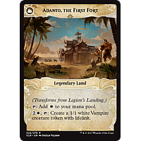Adanto, the First Fort (Flip side of the multi-part card Legion's Landing)