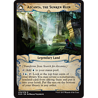 Azcanta, the Sunken Ruin (Flip side of the multi-part card Search for Azcanta)