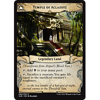 Temple of Aclazotz  (Flip side of the multi-part card Arguel's Blood Fast)