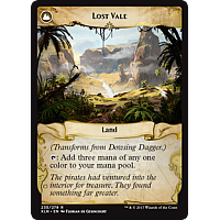 Lost Vale (Flip side of the multi-part card Dowsing Dagger)