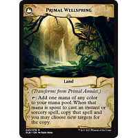 Primal Wellspring (Flip side of the multi-part card Primal Amulet)