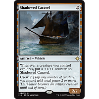 Shadowed Caravel ( Ixalan Prerelease Foil )