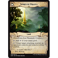 Spires of Orazca (Flip side of the multi-part card Thaumatic Compass)
