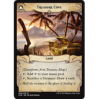 Treasure Cove (Flip side of the multi-part card Treasure Map)