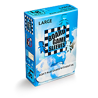 Board Game Sleeves - Non-Glare: LARGE (59x92mm)