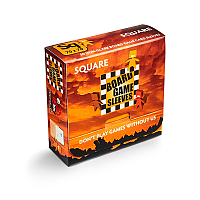 Board Game Sleeves - Non-Glare: SQUARE (70x70mm)