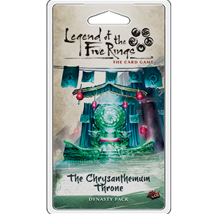 Legend of the Five Rings LCG: The Chrysanthemum Throne_boxshot