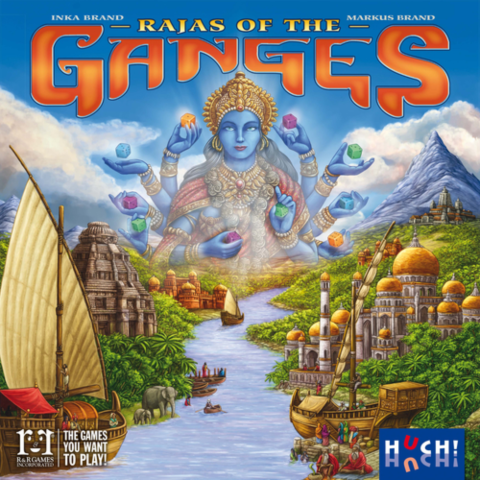 Rajas of the ganges_boxshot