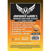 Mayday Premium Games Card Sleeves - Yucatan Card Sleeves - Narrow (54x80mm) 50-pack