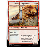 Feisty Stegosaurus