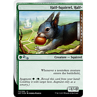 Half-Squirrel, Half-