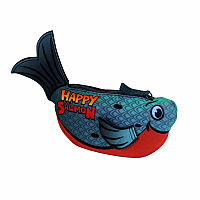 Happy Salmon Blue