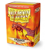 Dragon Shield - Matte Orange (100)