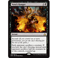 Vona's Hunger ( Foil ) ( Rivals of Ixalan Prerelease )