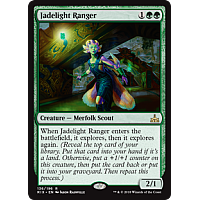 Jadelight Ranger ( Foil ) ( Rivals of Ixalan Prerelease )