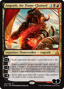 Angrath, the Flame-Chained ( Foil )_boxshot