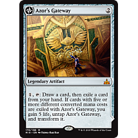 Azor's Gateway ( Foil ) ( Rivals of Ixalan Prerelease )