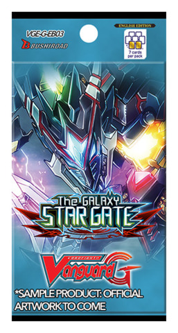 Cardfight!! Vanguard G - Extra Booster: The Galaxy Star Gate_boxshot