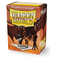 Dragon Shield - Matte Copper (100)