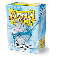 Dragon Shield - Matte Sky Blue (100)