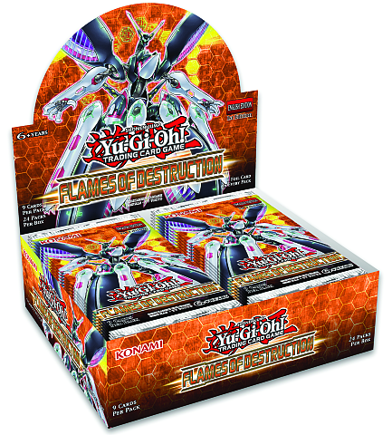 Flames of Destruction - Booster Display (24 boosters)_boxshot