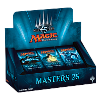 Masters 25 booster display