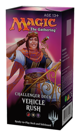 Challenger Decks: Vehicle Rush_boxshot
