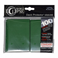 PRO-Matte Eclipse - Forest Green (100 Sleeves)