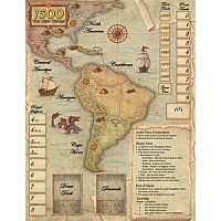 1500: The New World - Neoprene Game Mat