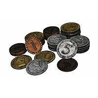 Clans of Caledonia: Metal Coins