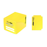 PRO Dual Standard Yellow Deck Box (180 cards)