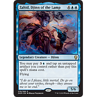 Zahid, Djinn of the Lamp