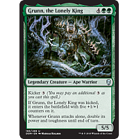 Grunn, the Lonely King ( Foil ) (Dominaria Prerelease)