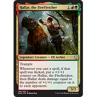 Hallar, the Firefletcher ( Foil ) (Dominaria Prerelease)