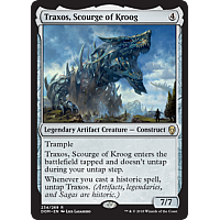 Traxos, Scourge of Kroog ( Foil )