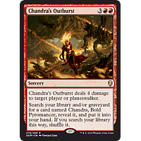 Chandra's Outburst