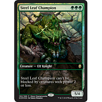 Steel Leaf Champion ( Foil ) (Rivals of Ixalan Store Championship) (Full-Art)
