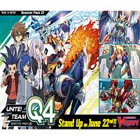 Cardfight!! Vanguard V - Unite! Team Q4 Booster