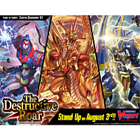 Cardfight!! Vanguard V - The Destructive Roar Booster