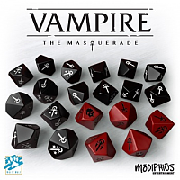 Vampire: The Masquerade 5th Edition Dice Set