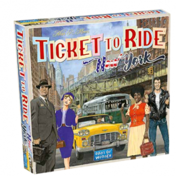 Ticket to Ride Express: New York City 1960_boxshot