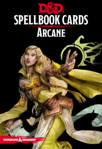 Dungeons & Dragons – Spellbook Cards: Arcane (253 cards)_boxshot