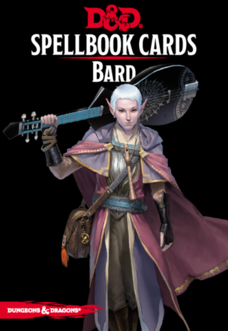 Dungeons & Dragons – Spellbook Cards: Bard (128 cards)_boxshot