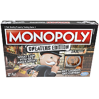 Monopoly Cheaters edition (Svensk)