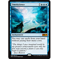 Omniscience ( Foil ) (Core Set 2019 Prerelease)